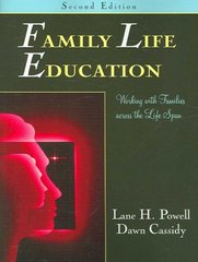 Family Life Education 2nd edition 9781577664659 1577664655