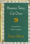 Measure Twice, Cut Once 0 9780316004947 0316004944