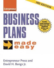 Business Plans Made Easy 3rd Edition 9781613080450 161308045X