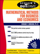 Schaum's Outline of Mathematical Methods for Business and Economics 1st edition 9780070176973 0070176973