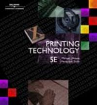 Printing Technology 5th Edition 9780766822320 076682232X