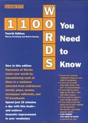 1100 Words You Need to Know 4th edition 9780764113659 0764113658