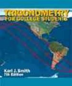 Trigonometry for College Students 7th edition 9780534348076 0534348076