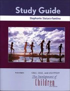 The Development of Children Study Guide 5th edition 9780716786733 0716786737