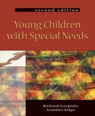 Young Children with Special Needs 2nd Edition 9781401860820 1401860826
