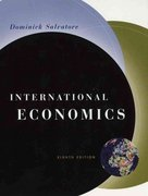 International Economics 8th edition 9780471230700 0471230707