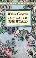 The Way of the World 1st Edition 9780486277875 0486277879