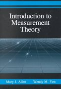 Introduction to Measurement Theory 1st Edition 9781478615668 1478615664