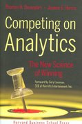 Competing on Analytics 1st edition 9781422103326 1422103323