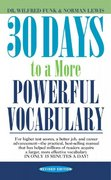 30 Days to a More Powerful Vocabulary 0 9780671743499 067174349X