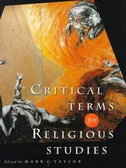 Critical Terms for Religious Studies 2nd Edition 9780226791579 0226791572