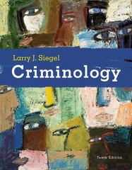 Criminology 10th edition 9780495391029 0495391026