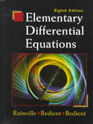 Elementary Differential Equations 8th edition 9780135080115 0135080118