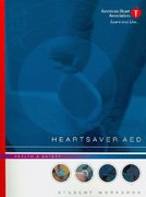 Heartsaver AED Student Workbook 0 9780874934670 0874934672