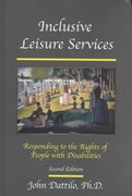 Inclusive Leisure Services 2nd edition 9781892132277 1892132273