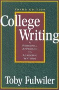 College Writing 3rd Edition 9780867095234 0867095237