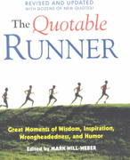 The Quotable Runner 0 9781891369261 1891369261
