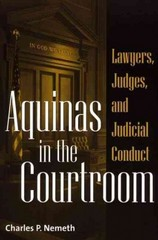 Aquinas in the Courtroom 0 9780275972905 0275972909