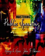 Mastering Public Speaking 5th edition 9780205388820 0205388825