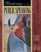 Mastering Public Speaking 4th edition 9780205318087 0205318088