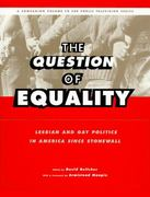 The Question of Equality 0 9780684800301 0684800306