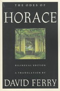The Odes of Horace 0 9780374525729 0374525722