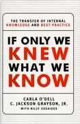 If Only We Knew What We Know 1st edition 9780684844749 0684844745