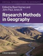 Research Methods in Geography 1st Edition 9781405107112 1405107111