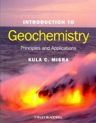 Introduction to Geochemistry 1st Edition 9781405121422 1405121424