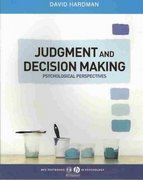 Judgment and Decision Making 1st edition 9781405123983 1405123982