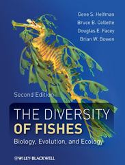 The Diversity of Fishes 2nd Edition 9781405124942 1405124946