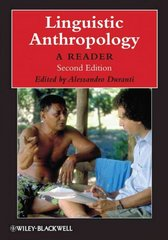 Linguistic Anthropology 2nd Edition 9781405126328 1405126329
