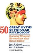 50 Great Myths of Popular Psychology 1st edition 9781405131117 140513111X