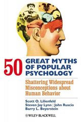 50 Great Myths of Popular Psychology 1st edition 9781405131124 1405131128