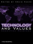 Technology and Values 1st edition 9781405149006 1405149000