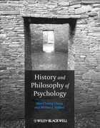History and Philosophy of Psychology 1st Edition 9781405179461 1405179465