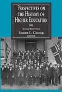 Perspectives on the History of Higher Education 2005 2005th edition 9781412805179 1412805171