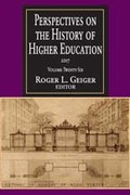 Perspectives on the History of Higher Education 2007 2007th edition 9781412807326 1412807328