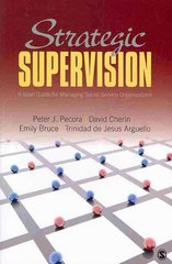 Strategic Supervision 1st Edition 9781483302188 1483302180