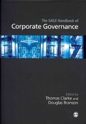 The SAGE Handbook of Corporate Governance 0 9781412929806 1412929806