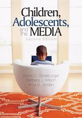 Children, Adolescents, and the Media 2nd Edition 9781412944670 1412944678