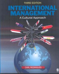 International Management 3rd Edition 9781412951418 1412951410