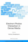 Electron-Photon Interaction in Dense Media 1st edition 9781402002670 140200267X