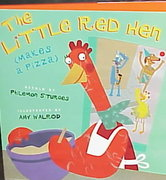 The Little Red Hen (Makes a Pizza) 0 9780525459538 0525459537