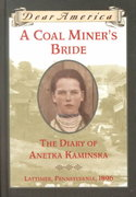 A Coal Miner's Bride 1st Edition 9780439053860 0439053862
