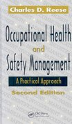 Occupational Health and Safety Management 2nd Edition 9781420051810 1420051814