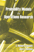 Probability Models in Operations Research 1st edition 9781420054897 1420054899