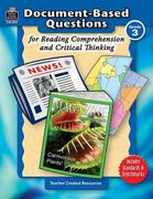 Document-Based Questions for Reading Comprehension and Critical Thinking 1st edition 9781420683738 142068373X
