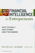 Financial Intelligence for Entrepreneurs 1st Edition 9781422119150 1422119157