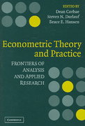 Econometric Theory and Practice 0 9780521807234 0521807239